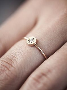 Gypsy Stone Setting Ring