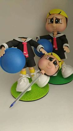 Quico Polymer Clay Disney, Cute Polymer Clay, Polymer Clay Creations, Foam Crafts, Diy And Crafts, Arts And Crafts, Craft Tutorials, Craft Projects, Projects To Try