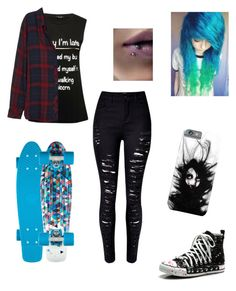 """""""Untitled #121"""" by akwardpotato on Polyvore featuring M&Co and Rails"""