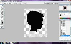 How to create a silhouette to cut with Sure cuts a lot