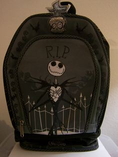 Nightmare Before Christmas lunch bag!
