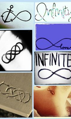 Infinity signs are my passion forever