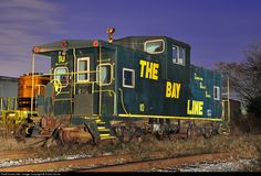 RailPictures.Net Photo: BAYL 10 Bay Line Railroad Caboose at Columbus, Georgia by Frank Orona