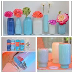 Finally a Color Mason Jar that is WATERPROOF!! Now I have a Mason Jar Vase and or Floating Candle Holder :P