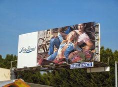 New season fashion billboards stylishly gracing the skies of L.A. ... David  James Gandy 7082ddf30