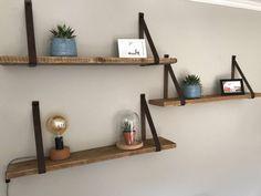 Floating Shelves Diy, Rustic Shelves, Wooden Shelves, Nursery Shelves, Room Shelves, Happy New Home, Wall Decor, Room Decor, New Room
