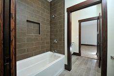 Stacked Tile - Tub Surround
