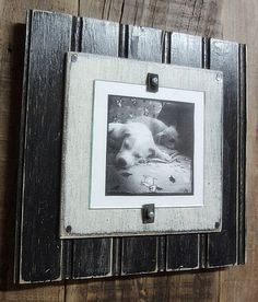 4 x 4 Beadboard Photo Picture Frame  Black and by OldFortStudios, $16.00