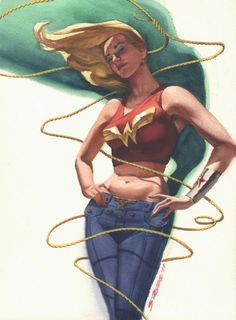 Wonder Girl by Steve Rude