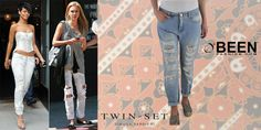Comodi ed estremamente glamour per  Rihanna e Jessica Alba i jeans strappati sono il #Musthave del momento. Trova quelli #twinset su #Beenfashion!  http://www.beenfashion.com/it/catalog/product/view/id/20559/s/twin-set-jeans/category/141/?utm_source=pinterest.com&utm_medium=post&utm_content=twinset-jeans&utm_campaign=post-prodotto