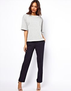 Image 1 of ASOS Peg Trousers
