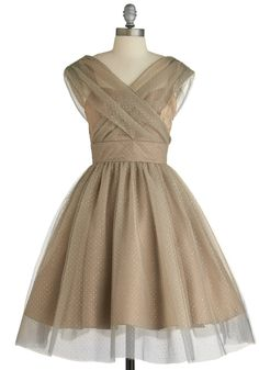 Belle in Bronze Dress - WOW what a dress!  I want this dress.  Heck I want to go to a place I can WEAR this dress.