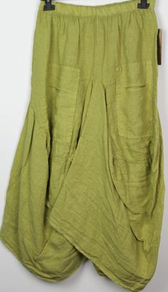 Ladies Lagenlook Italian Boho Quirky Layering Linen Parachute Harem Tulip Skirt in Clothes, Shoes & Accessories, Women's Clothing, Dresses | eBay