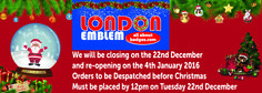 Just a reminder we close tomorrow for the Christmas period. We hope you all have a very Merry Christmas and a Happy New Year :). Very Merry Christmas, Before Christmas, Just A Reminder, Happy New Year, All Things, Badge, Period, December, Products