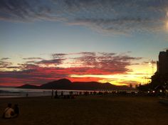 Bal Camboriú - Brasil.  Amanecer 6 am.