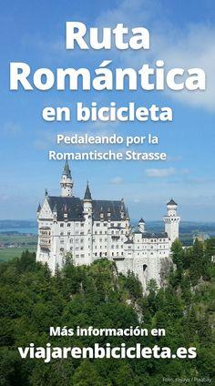 ✅ La #Ruta Romántica en #bicicleta. Pedaleando por la #RomantischeStrasse (#Alemania) #ciclismo #cicloturismo #viajes #viajar Folding Bicycle, Upcycle, Germany, Paths, Biking, Bicycles, Traveling
