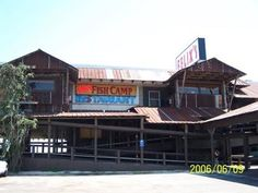 Felix's Restaurant on the causeway of Mobile Bay.  Great food, views, and entertainment!