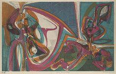 Cinq Personnages, 1946 Stanley William Hayter (British, 1901–1988) Engraving and soft-ground etching; Sheet: 20 1/8 x 23 3/16 in