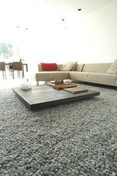 Gr/össe:120x170 cm Paco Home Outdoor Indoor Grau Teppich 3D Optik Skandi Look Skandinavisches Design Kurzflor