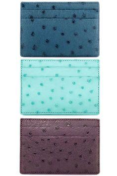 Working Class  Tiffany & Co. card cases, $185 each, tiffany.com.