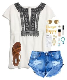 """""""Shoutouts!! """" by graciegerhart7 ❤ liked on Polyvore featuring Madewell, RetroSuperFuture, Kate Spade, Tory Burch, Kendra Scott, Casetify, Murad, NARS Cosmetics, MAC Cosmetics and Steve Madden"""