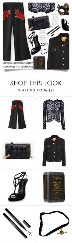 """Bez naslova #1667"" by violet-peach ❤ liked on Polyvore featuring Balenciaga, Dsquared2 and Vivienne Westwood"