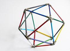 Pencil Icosahedron Lampshade