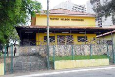 Maurício Nunes no Teatro Nelson Rodrigues