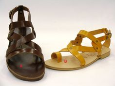 Summer Shoes  Leather sandals by topshoes on Etsy,