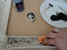 Anyone Can Decorate: How to Antique Glaze - DIY Tutorial