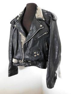 Rocker Biker GILET Pelle GILET Bad Company Leatherwear 50