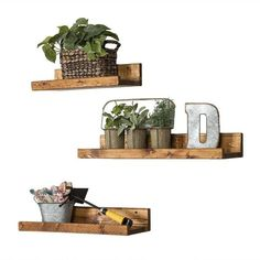 These floating shelves are on sale for one shelf! You have the option betweenone regular wall shelf orone shelf with a metal towel holder. We use high grade pine wood and stain it a dark walnut. We recommend attaching the shelf to wall studs or using drywall anchors. Dimensions: 2″H x 24″W x 5.5″D