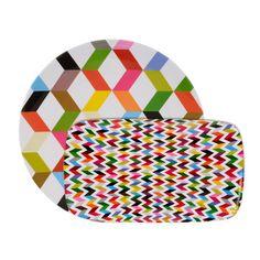 My design inspiration: Ziggy Plater Set Of 2 on Fab.