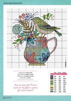 ru / Фото - CrossStitcher 342 - tymannost - That's It Cross Stitch Kitchen, Just Cross Stitch, Cross Stitch Cards, Cross Stitch Alphabet, Cross Stitch Baby, Cross Stitch Animals, Cross Stitch Flowers, Cross Stitching, Cross Stitch Embroidery