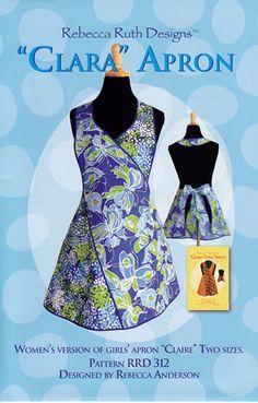 Clara Apron ~ Rebecca Ruth Designs Sewing Pattern