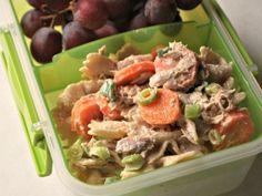 Bow-Tie Pasta Salad with Tuna and Veggies