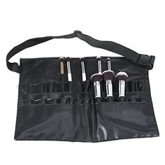 Cool In Summer And Warm In Winter Professional Cosmetic Makeup Brush Pvc Apron Bag Artist Belt Strap Portable Make Up Bag Holder brushes Not Included