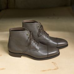 Carmina shoemaker - Fur-lined Jumper Boots. Introducing our new. Gents Fashion, Man Fashion, Cordovan Shoes, Leather Industry, Gentleman Shoes, Exclusive Shoes, Shoe Tree, Goodyear Welt, Casual Boots
