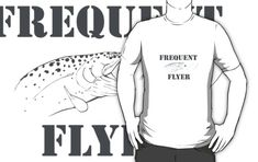 'Frequent flyer' T-Shirt by handcraftline Tshirt Colors, Wardrobe Staples, Female Models, Heather Grey, Classic T Shirts, Fishing, Tees, Girl Models, T Shirts
