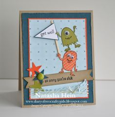 Diary of Two Crafty Girls: Get Well Wishes...