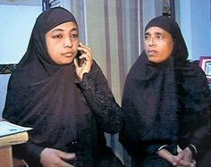 Afroz Begum (right) and Jahan Aara, the first women Qazis of Rajasthan. — PHOTO: PTI