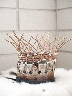 oreo basket pot~tw pottery