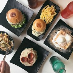 Now on #BookyPrime: BeefX - U.P. Town Center  Offers burgers with parties that are made from 50% beef and 50% bacon/spam/longganisa/sisig as well as fries rice meals and fun drinks  Book a table via Booky and get P500 off all day  FREE dessert!  Booky team # #bookymanila  View its exact location & full menu on our app!  Tag your friends who love food & discounts