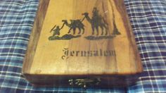 #Jerusalem Jordan #Wooden #Box by TheRecycledGreenRose on #Etsy, $23.95