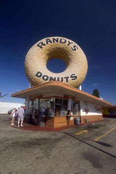 Randy's Donuts, Inglewood, California