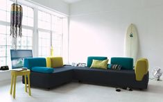 Ideas para decorar casas con tablas de surf  |  DECOFILIA.com