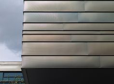 Beautiful zinc cladding (I think) on an Education Center by Detlef Schobert, via Flickr