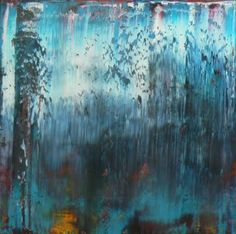 "Saatchi Art Artist jb lowe; Painting, ""Richter Scale - Behind the Falls"" #art"