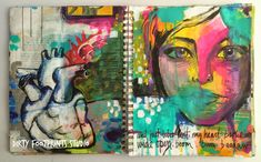 Welcome To Episode 10 of Take A Peek! I've had such fun sharing my journals with you! I'd love if you would CLICK HERE and subscribe to the Dirty Footprints Studio newsletter.  This way you can always be in the know of what I'm up to in the studio! And I'm a huge fan of Instagram so please CLICK HERE to join me! That's my favorite social media site by far!    In this final episode of Take A Peek I share with you my most current art journal.  (This episode was shot in early 2015.) When I…