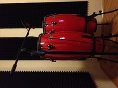 My DADI Congas and MXL 550 percussion mic